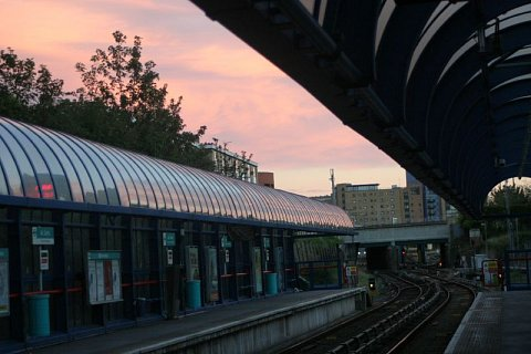 All Saints station by Scott Joyce