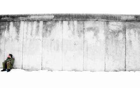 Sat on the wall by Scott Joyce