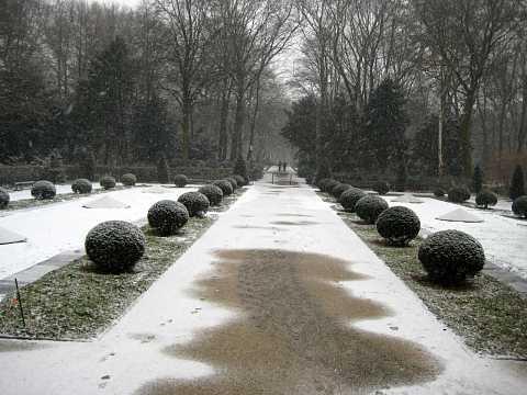 Tiergarten in Winter by Scott Joyce
