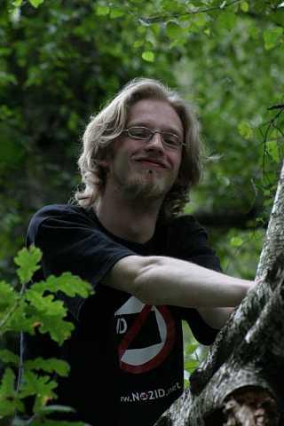 up a tree by Scott Joyce