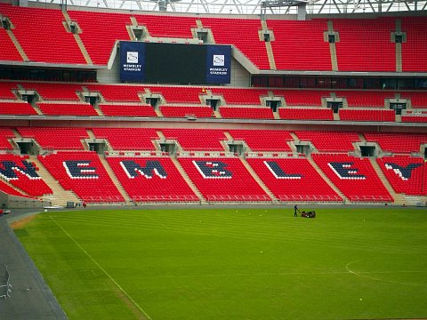 Wembley from Within by Scott Joyce