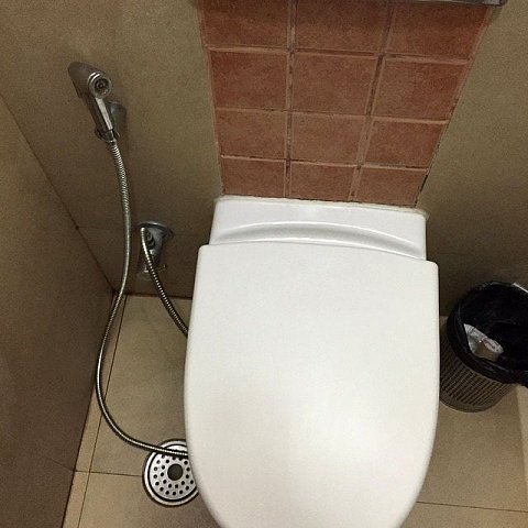 This toilet comes with jetwash by Scott Joyce