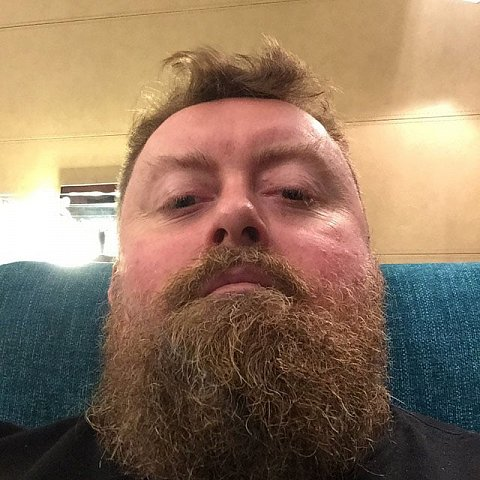 Week 1. Done. Phew. #india #gurgaon #beard #swankyhotel by Scott Joyce