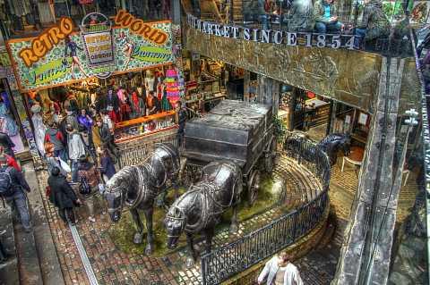 Camden Stables Market, London. HDR. by Scott Joyce