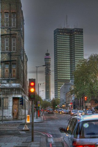 Euston, London. HDR. by Scott Joyce