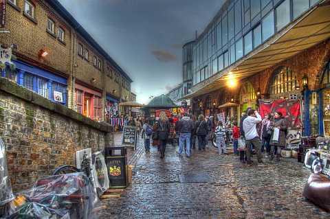 Camden Stables Market, London, HDR. by Scott Joyce