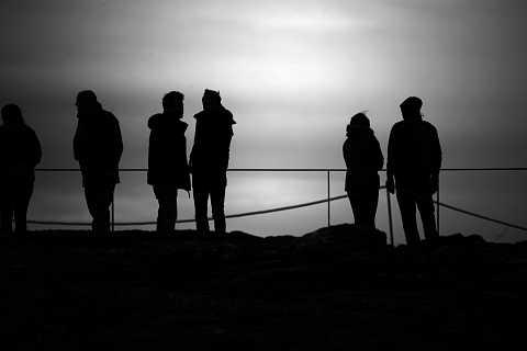 Þingvellir silhouette by Scott Joyce