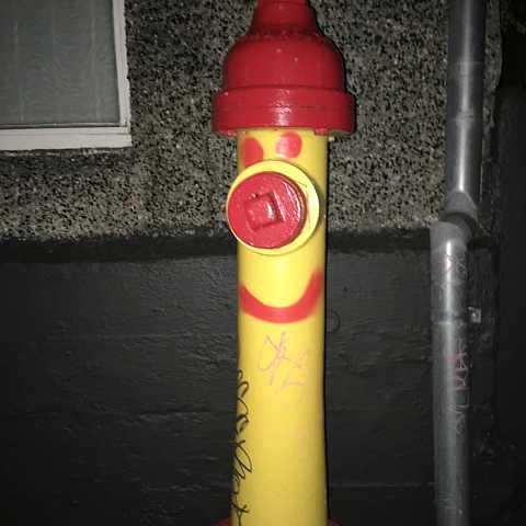 Happy fire thing by Scott Joyce