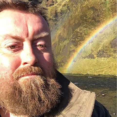 Found a rainbow's end! No gold :( by Scott Joyce