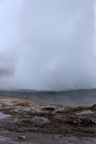 A geyser at Geysìr by Scott Joyce