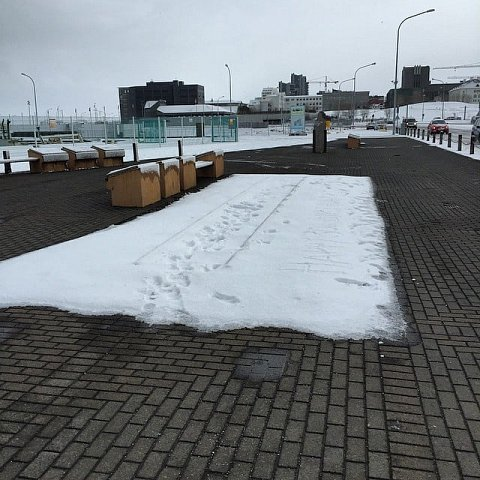 Trains cancelled due to adverse weather conditions. #icelandadve by Scott Joyce