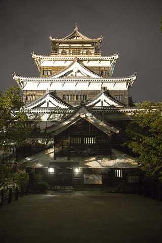 Hiroshima castle by Scott Joyce