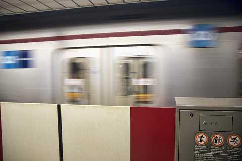 Tokyo subway by Scott Joyce