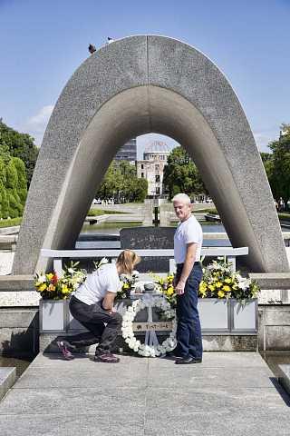 Hiroshima Peace Memorial Park by Scott Joyce