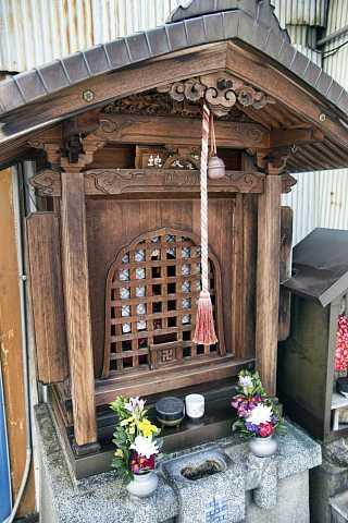 Shrine in Kyoto by Scott Joyce
