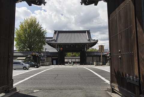 Temple in Kyoto by Scott Joyce