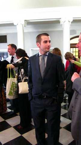 Liam and Scott's civil partnership ceremony