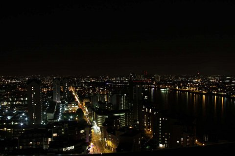 Night over the Thames by Scott Joyce