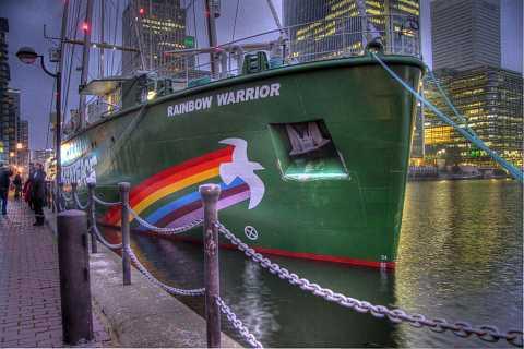 The Rainbow Warrior by Scott Joyce