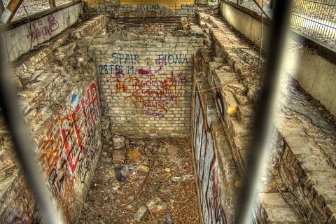Down the pit by Scott Joyce