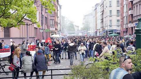May Day in Berlin by Scott Joyce