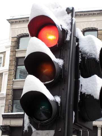 Snow lights by Scott Joyce