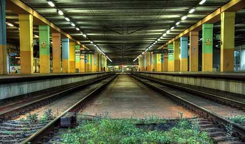 Under Warsaw station by Scott Joyce