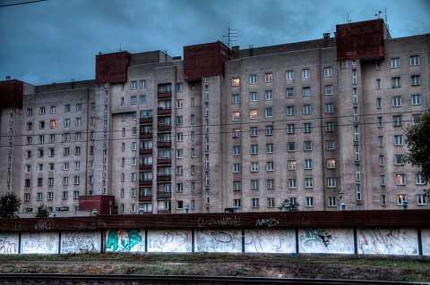 Warsaw block by Scott Joyce