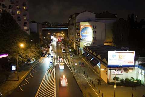 Night view downtown by Scott Joyce