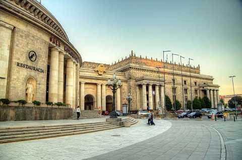 Pałac Kultury i Nauki street view by Scott Joyce