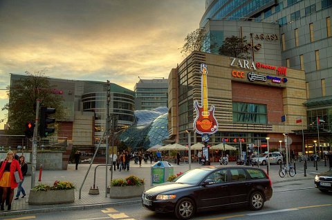 Shopping center by Scott Joyce
