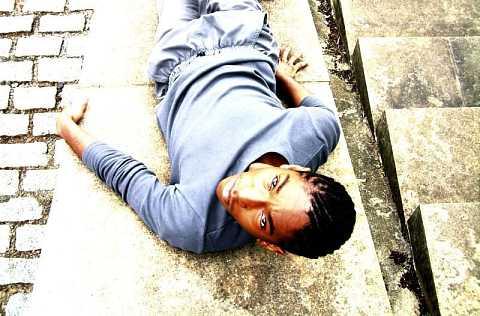 Marcus lays by Scott Joyce
