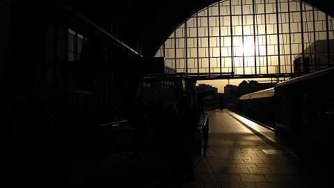 Alexanderplatz Bahnhof by Scott Joyce