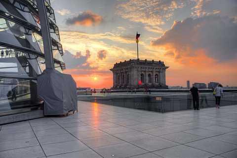 Reichstag dome trip