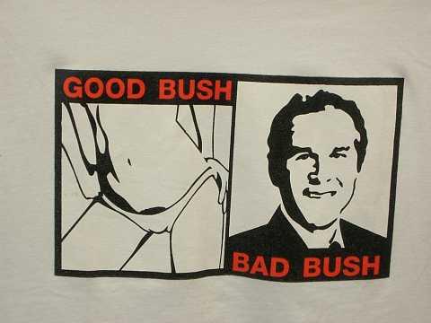 Good bush Bad Bush by Scott Joyce