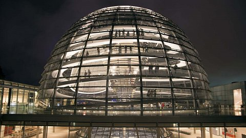 Dome of the Reichstag by Scott Joyce