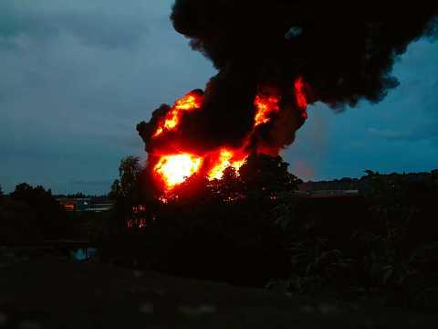 Leeds Fire 2003