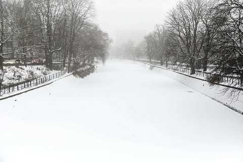 Berlin Whiteout by Scott Joyce
